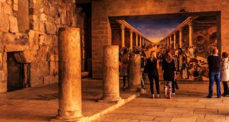 На стенах и в подземельях Иерусалима